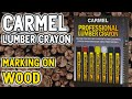 Best Lumber Crayon Making on Wood from Carmel