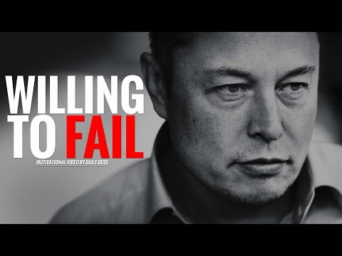 Willing To Fail – Motivational Video