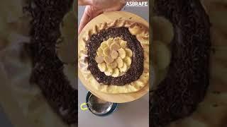 ASBRAFE apresenta: Pizza de Brigadeiro com Banana