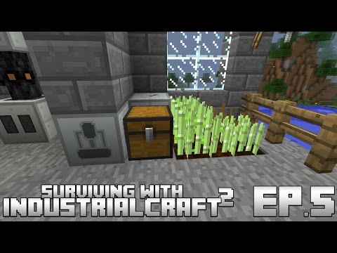 Surviving With IndustrialCraft 2 :: Ep.5 - Automatic Rubber Farm