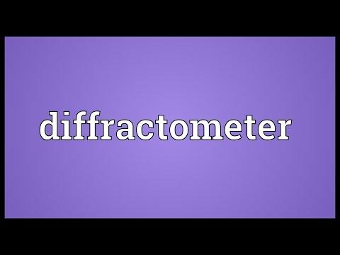 Header of diffractometer