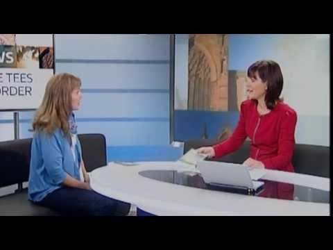 Author Bea Davenport interviewed on ITV Tyne Tees
