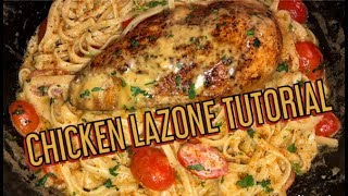 Cuttin Up With Bae: How To Make Quick and Easy Chicken Lazone With Chef Bae