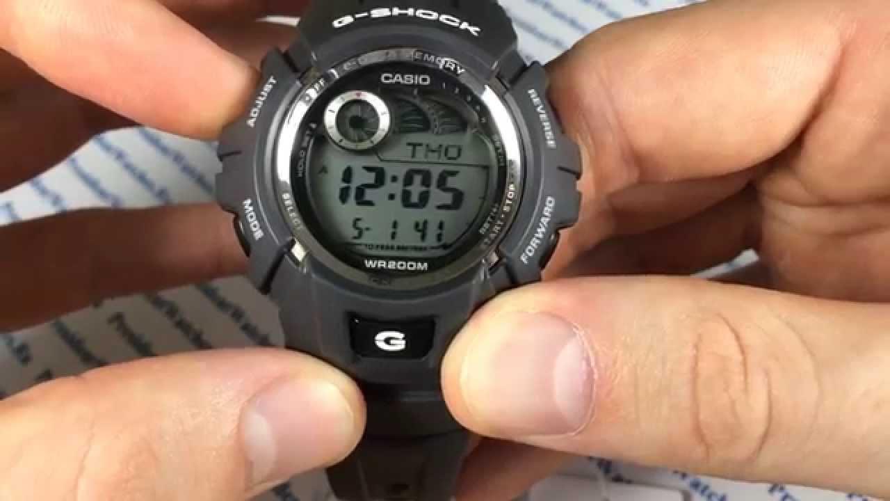 инструкция к часам g shock casio r10628