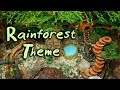 🌿RAINFOREST Hamster Cage Theme! (New DIY Cage)