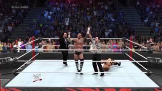 WWE 2K15 - 2K Showcase - How To Unlock The Rock
