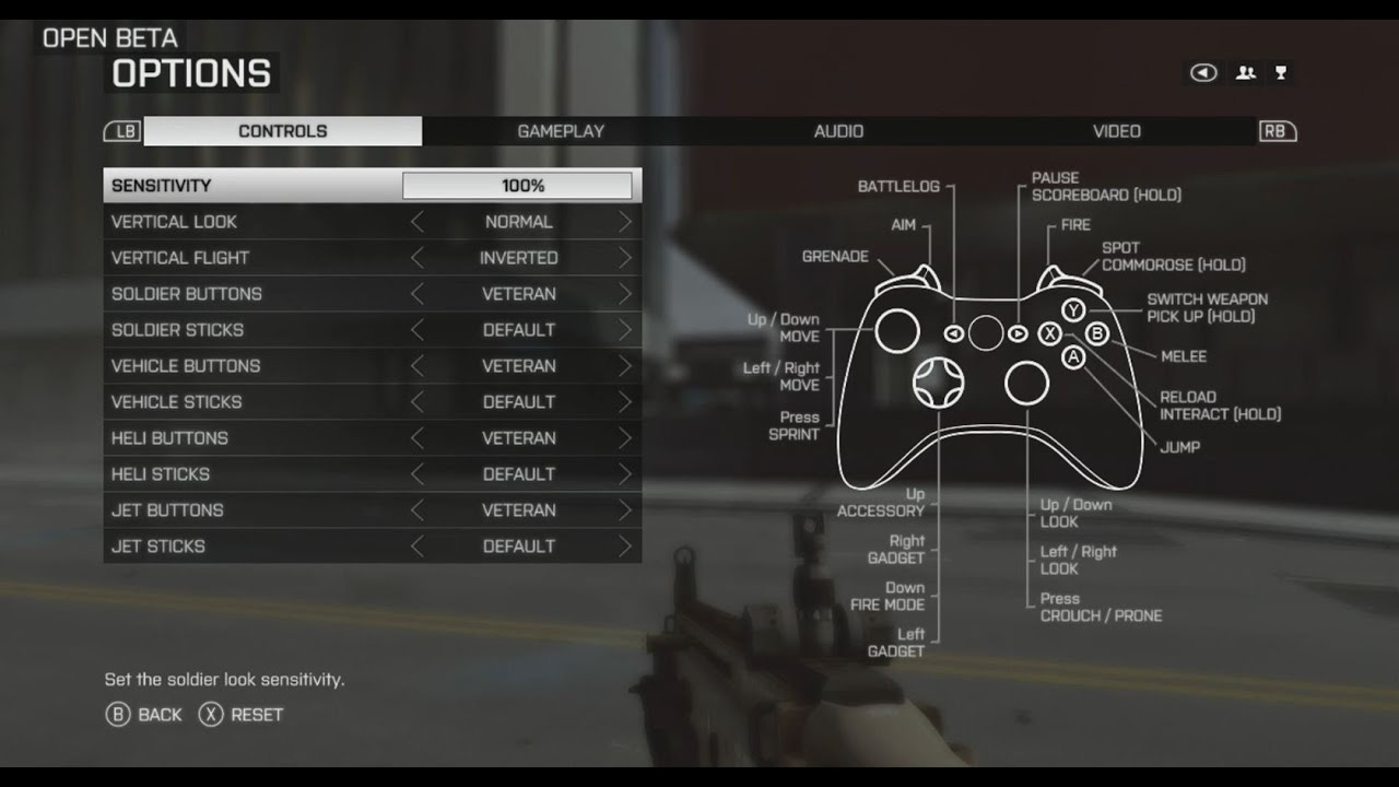 PC controls - Forums - Battlelog / Battlefield 4