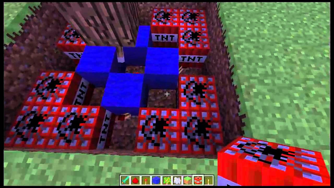 Minecraft Combat Handbook: Exploding Tree Trap Tutorial