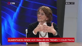 Entrevista a Alcira Argumedo