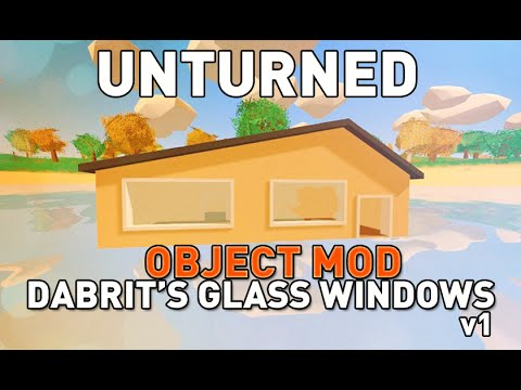 how to make glass unturned