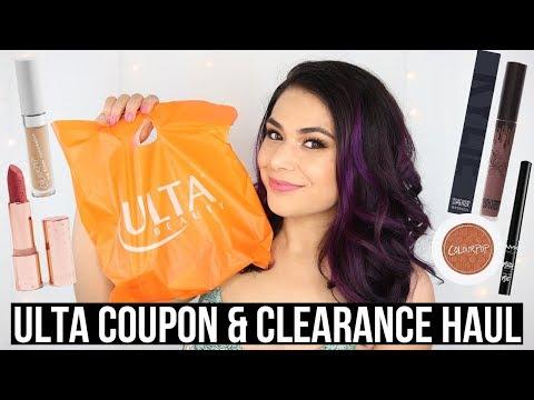 ulta-makeup-haul-2019-|-20%-off-coupon-&-clearance