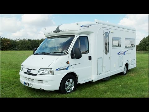 peugeot boxer, autocruise stardream (2006) £23,995 sold - youtube