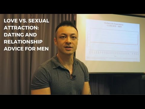 Love vs. Sexual Attraction: Dating and Relationship Advice for Men - a talk by David Tian, Ph.D.