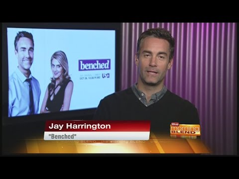 Benched - actor Jay Harrington