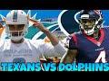 Texans vs Dolphins Week 8 Prediction! Thursday Night Football!