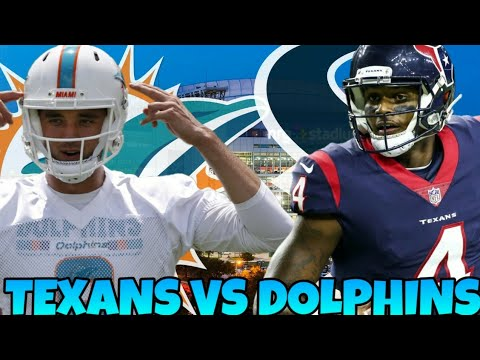 Texans vs Dolphins Week 8 Prediction! Thursday Night Football