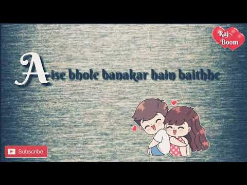 Do dil mil rahe hain - female version | whatsapp status| cute whatsapp status | sharukh khan