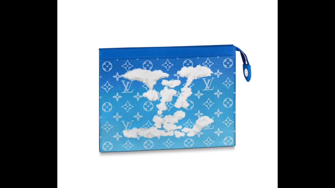 Download LOUIS VUITTON, LV Clouds Collection Pochette Voyage unboxing