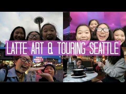LATTE ART & TOURING SEATTLE | Seattle Day 1