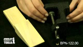 Bpn-122.00 - Bench Pin And Anvil - Jewelry Making Tools Demo
