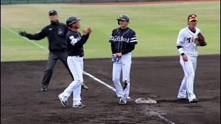 【快速育成新人】 2018.4.11 ソフトバンクホークス 周東佑京選手 タイムリースリーベース