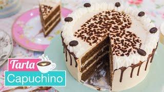 Tarta Capuchino | Cappuccino Cake | Quiero Cupcakes!