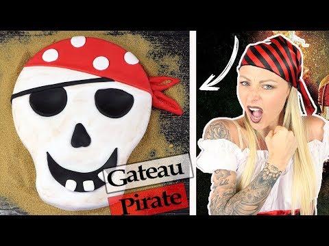 ♡• RECETTE GÂTEAU PIRATE | CAKE DESIGN •♡