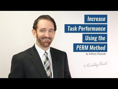 "Marketing Minute 042: ""Using the PERM Method to Perform Better"" (Personal Branding)"