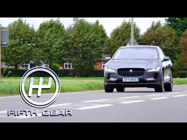Jaguar I-Pace - the future of the electric car? | Fifth Gear