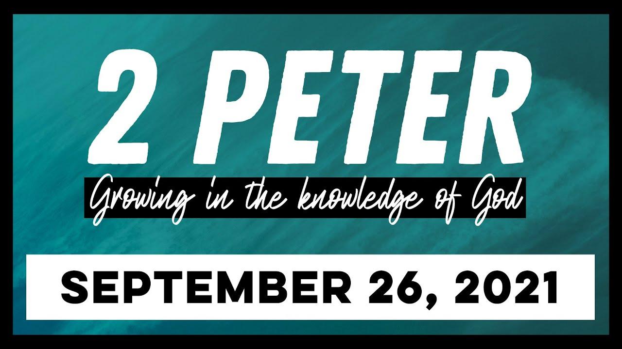 Download 2 Peter 2:4-10 - Divine Judgement on False Teachers