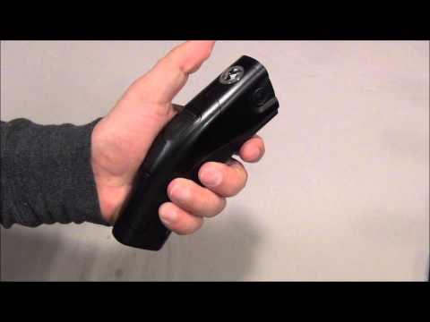 taser less lethal weapon and nine volt battery The taser xrep is a 12 gauge less-lethal round that delivers an electric shock to the target it hits  wires and a 6 volt lantern battery to shock himself for.