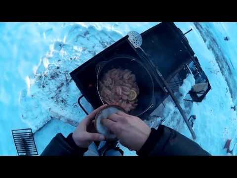 Рецепт Жареные креветки на мангале