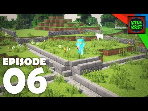 TOWN INFRASTRUCTURE | Ep. 06 Survival Minecraft