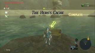 Zelda Breath of the Wild - THE LAST KASS'S QUEST - The Hero's Cache