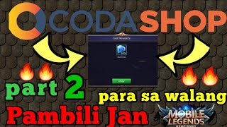 Get free diamonds in Codashop for free (Part 2) | Mobile Legends
