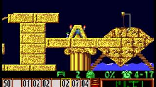 """[TAS] SNES Lemmings """"all levels"""" by Lord Tom in 1:03:04.45"""