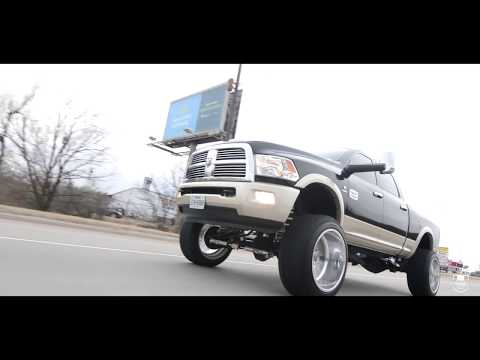 2012 Dodge Ram 2500 on 24x14 Specialty Forged Wheels Wrapped In 37s On a 10