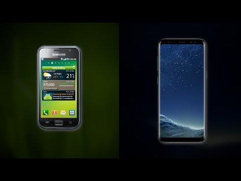 Samsung Galaxy S - Startup sounds/Sonidos de arranque (2010 - 2015)