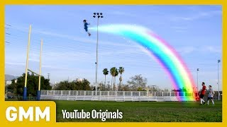 Football Field Goal Trick Shots