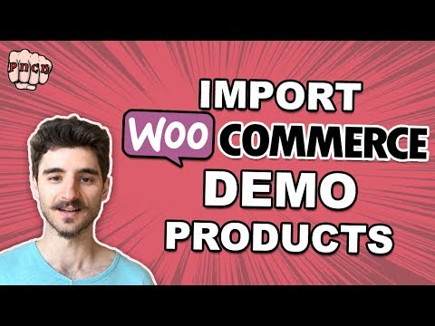 Woocommerce Demo Products - CSV File Import (with images