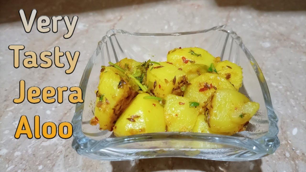 Jeera aloo recipe|How to make jeera aloo|Cooking With ...