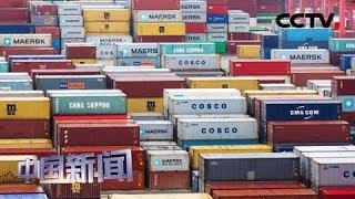 [中国新闻] 海关总署:前7个月中国外贸进出口17.41万亿元 稳中提质   CCTV中文国际