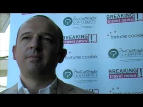 Antonio Batanero, Senior Director, Interactive, Sol Melia @ An insider's view of PhoCusWright 2008