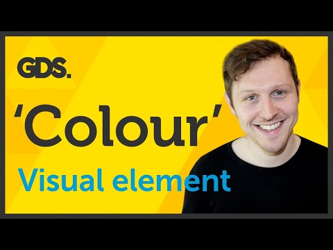 'Colour' Visual element of Graphic Design / Design theory Ep3/45 [Beginners guide to Graphic Design]