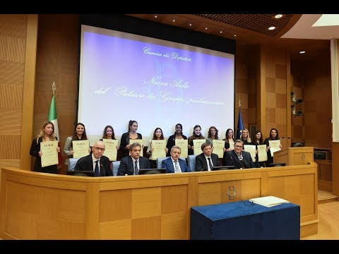 Cerimonia di Consegna degli Attestati Tourist Advisor con la Fondazione Italia Usa