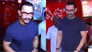 Aamir Khan Spotted Aura Thai Body Spa , Mumbai