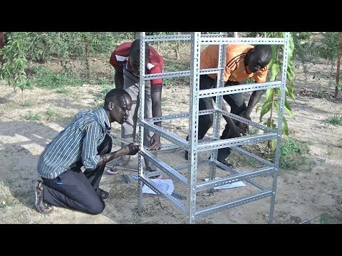 Solar dryer/dehydrator construction - South Sudan