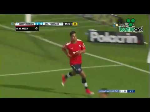 Golazo de Meza. Independiente-Atlético Tucumán