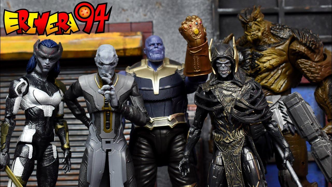 Marvel Legends Avengers Walmart Loki Infinity guerre Figure Corvus Glaive Obsidienne