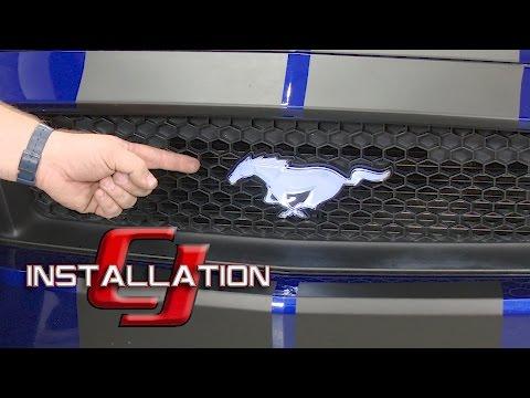 Premium Black Ford Performance License Plate w// Logo Emblem